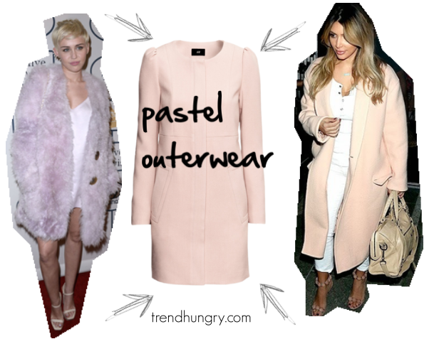 Celebrity Trend: Pastel Outerwear (Under $50!!) – Blog by Jessie ...