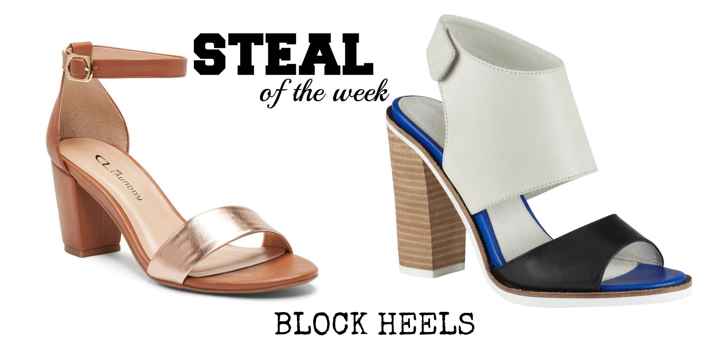 {Steal of the Week} Block-Heel Sandals – Blog by Jessie Holeva