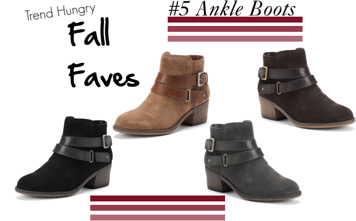 Fall Faves} #5 Ankle Boots – Blog by Jessie Holeva