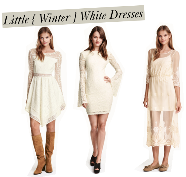 Trend Hungry Tuesday } Little Winter-White Dresses – Blog by ...
