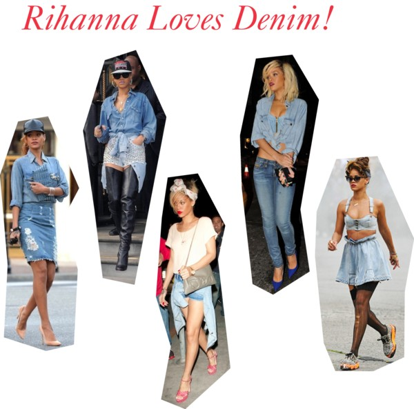 Rihanna Loves Denim