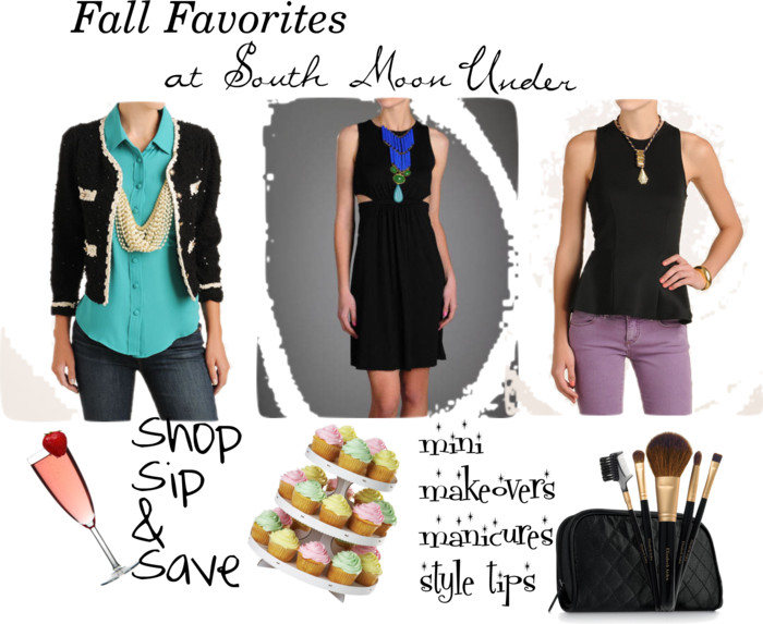 south moon under fall faves