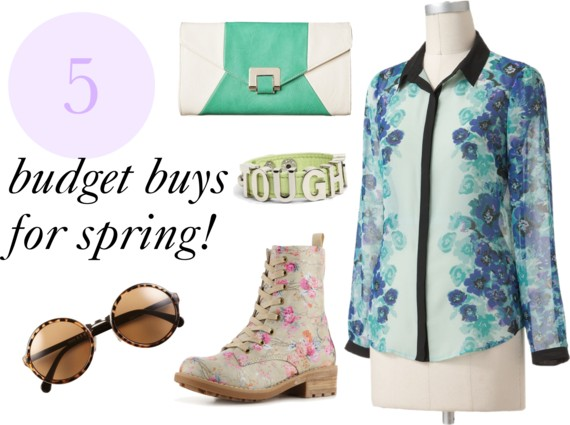 budget buys for spring
