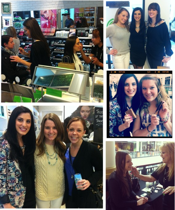 The Body Shop Grand Opening with Jessie Holeva of TrendHungry.ocm