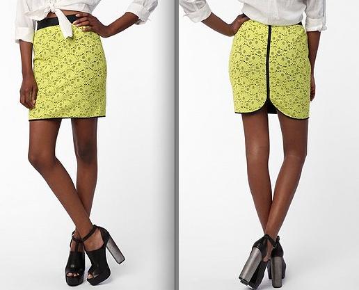 Sale Rack Report Skinny Budget Neon Skirt Blog By