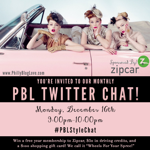 Cancel Zipcar Membership >> {Tweet + Win} Philly Blog Love Hosts Twitter Event Tonight – Blog by Jessie Holeva