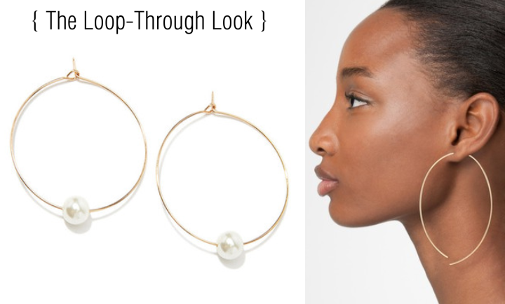 Loop-Through-Earrings