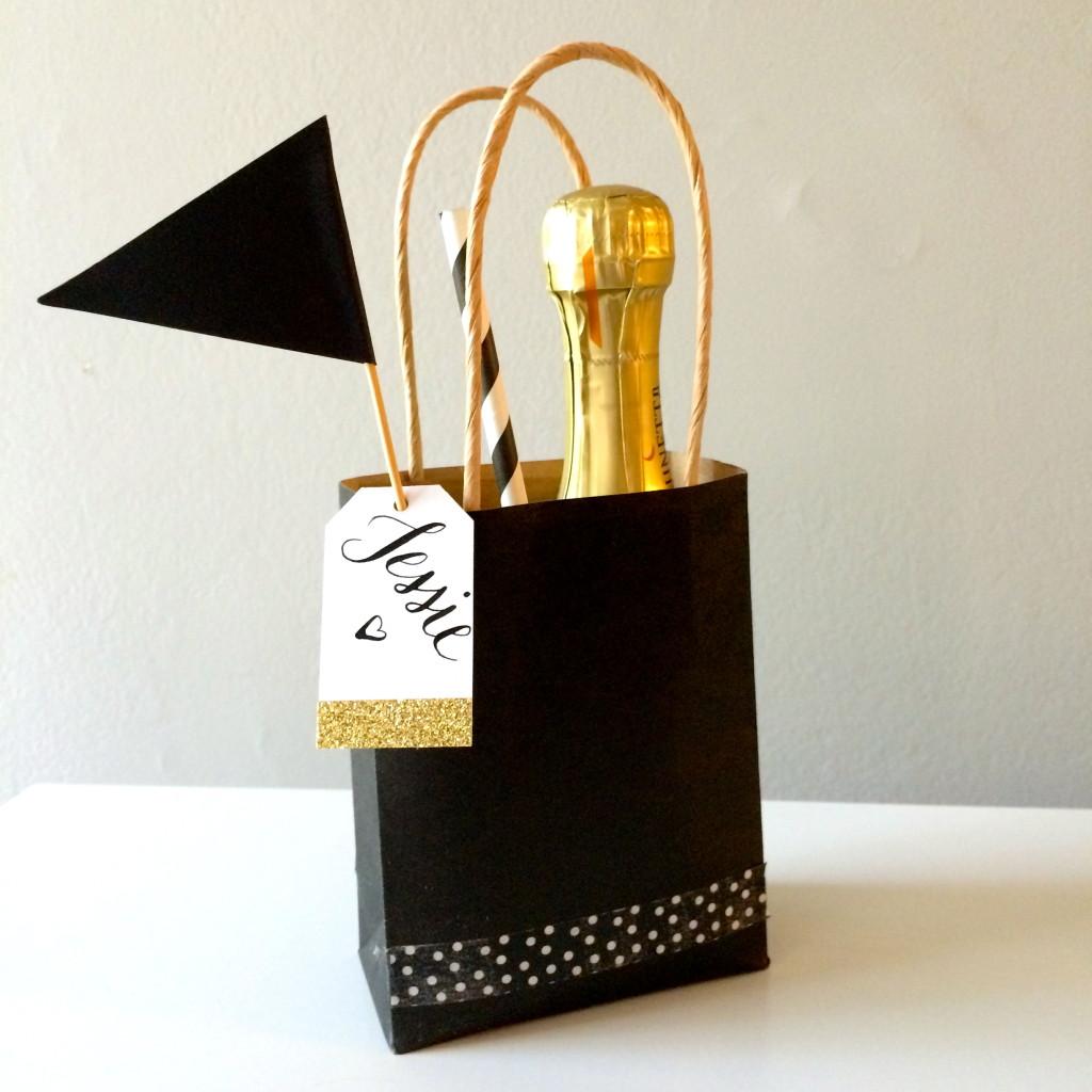 bridesmaid DIY gift bag