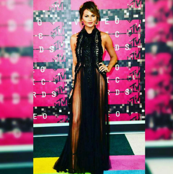 Chrissy Teigen VMA 2015 Best Dressed