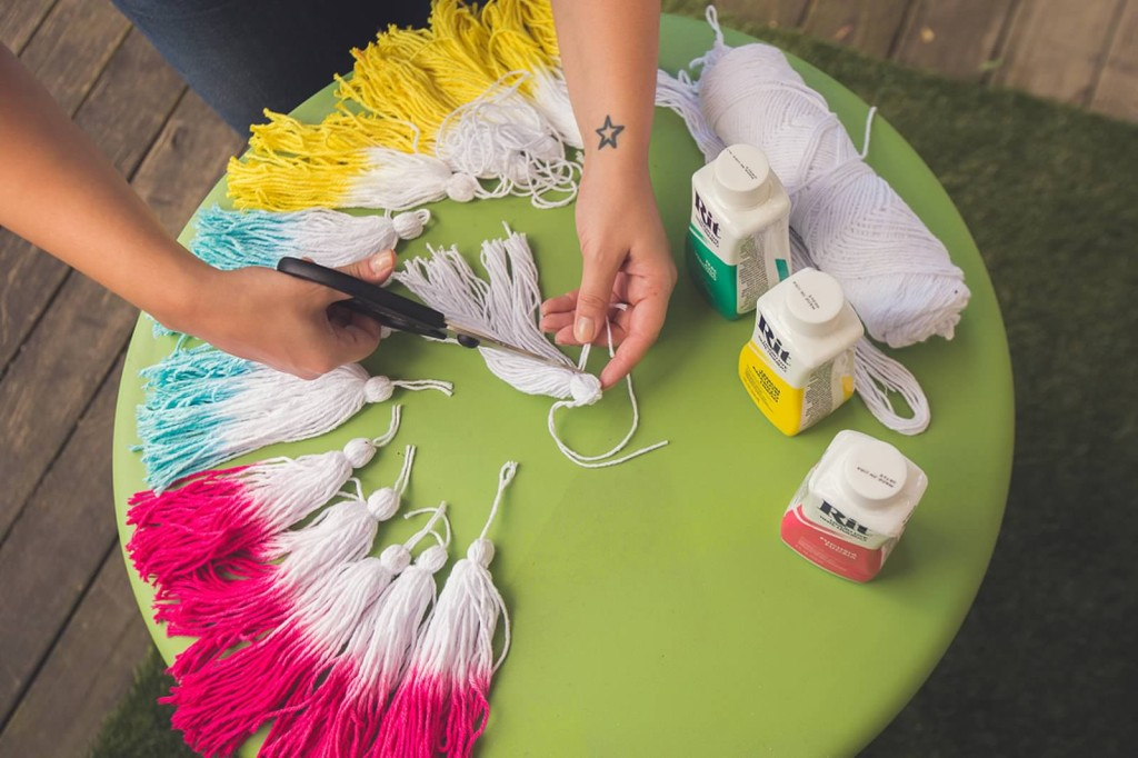 tassel DIY how to