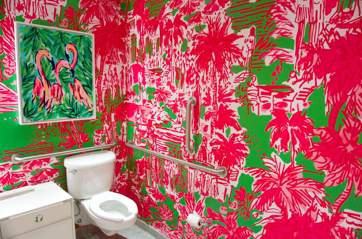Lilly Pulitzer Bathroom