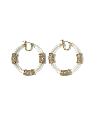 Vince Camuto Lucite earrings $25