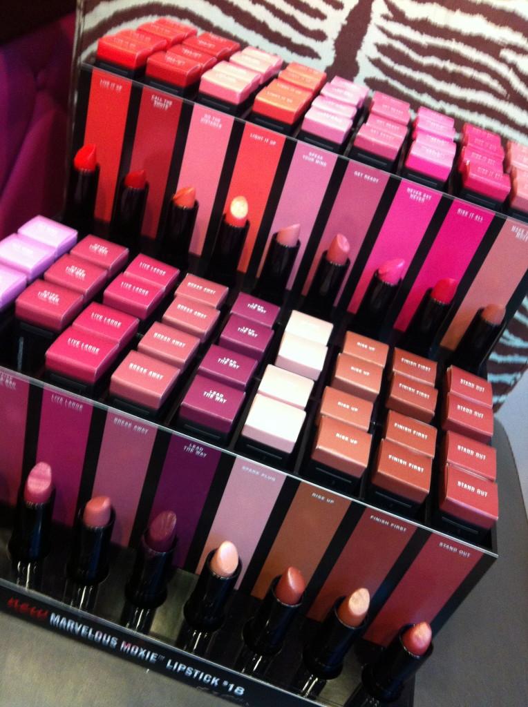 Bare Escentuals new lipsticks, debut May 2013