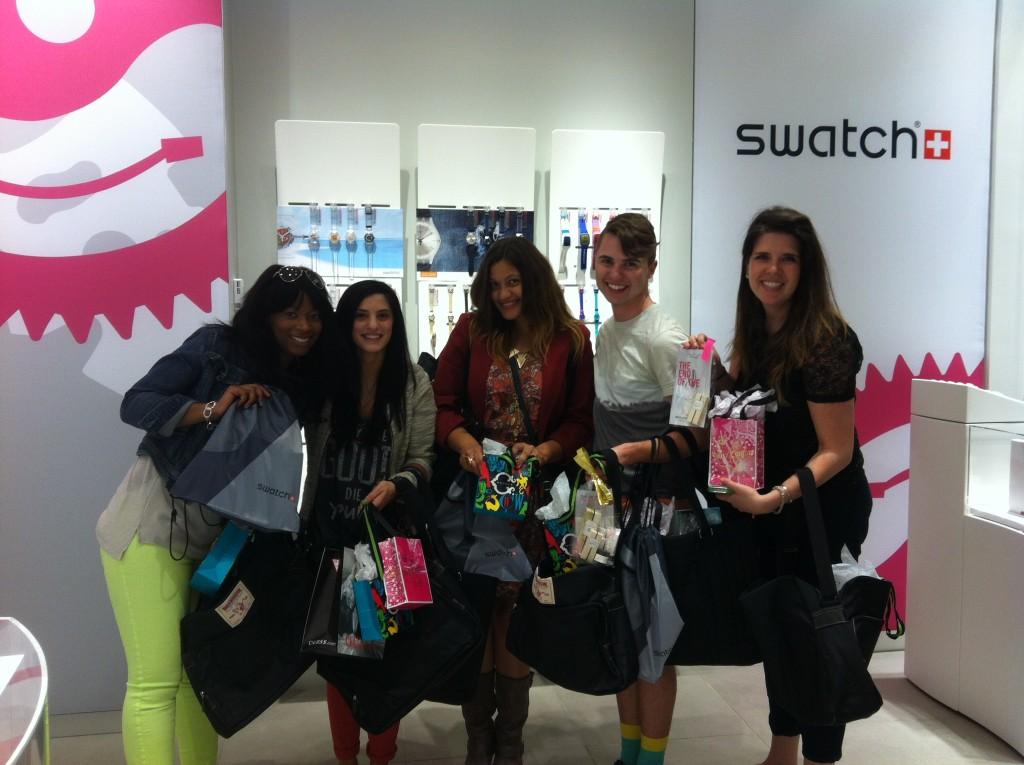 philadelphia fashion bloggers at simon fashion now preview
