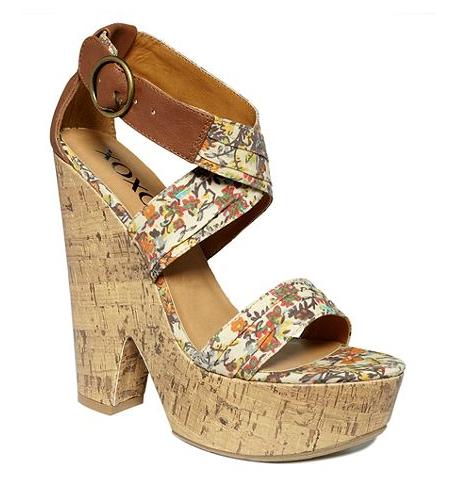 XOXO Shoes, Frida Wedge Sandals