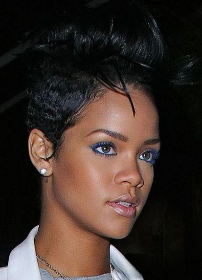Rihanna Colored Eye lashes