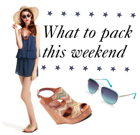 what to pack this weekend: memorial day style