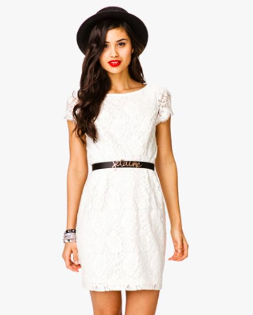 white dress 2013 trend