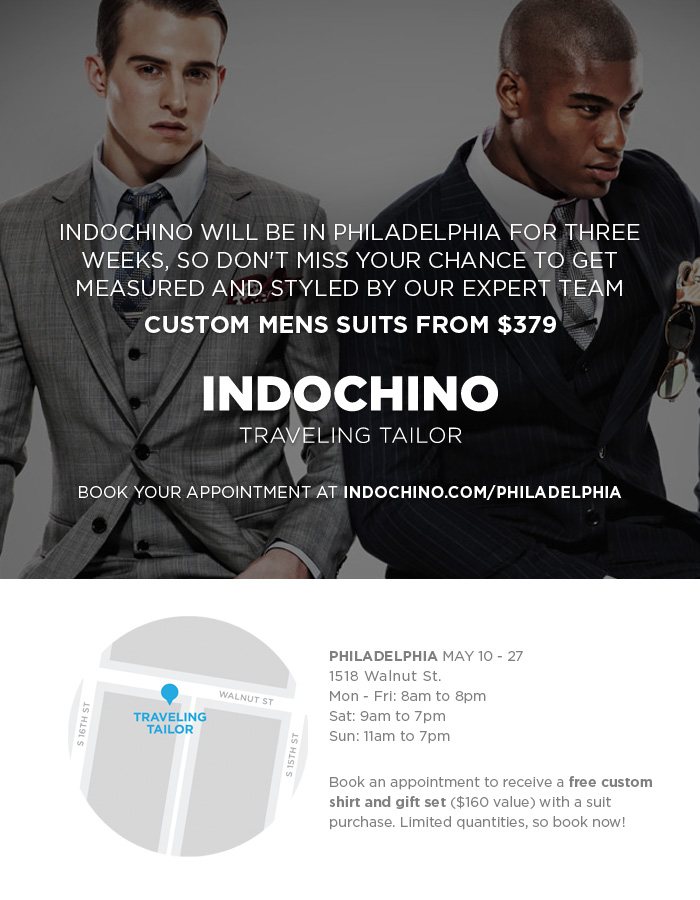Indochino in Philly