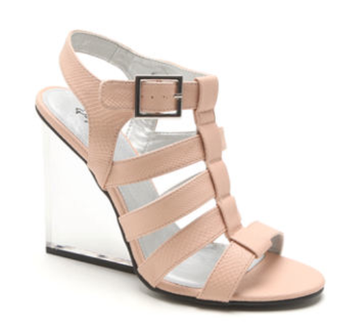 currently craving: qupid lucite sandal