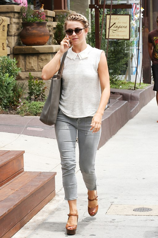 Julianne Hough shoes