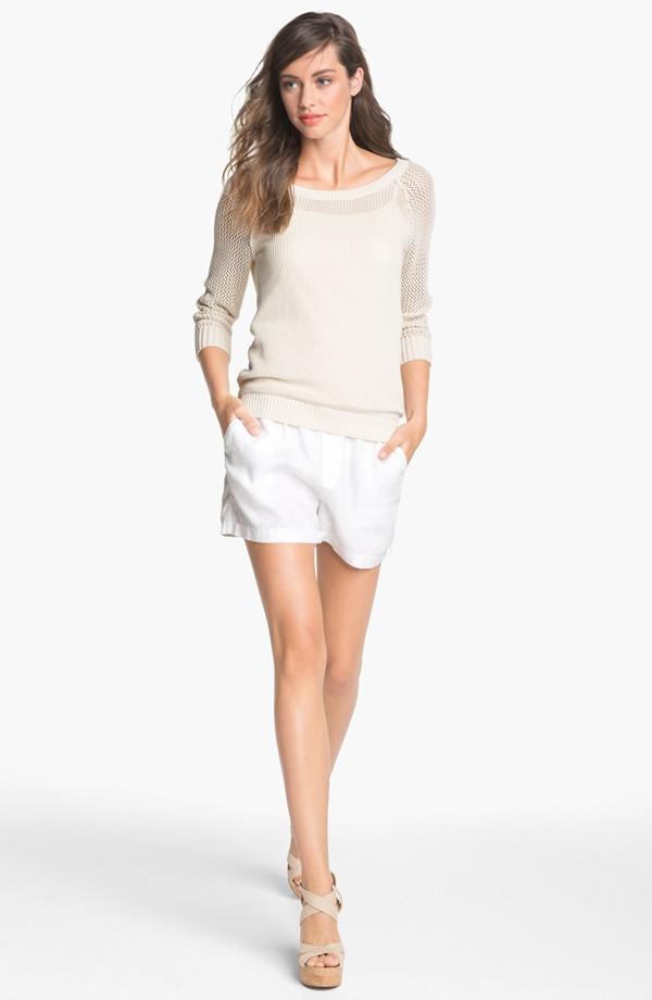 Drawstring-Linen-Shorts