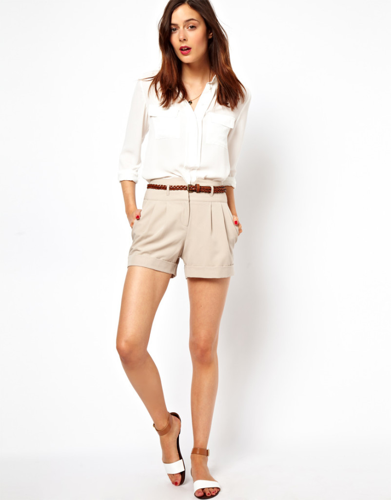 high-waisted-shorts-for-work