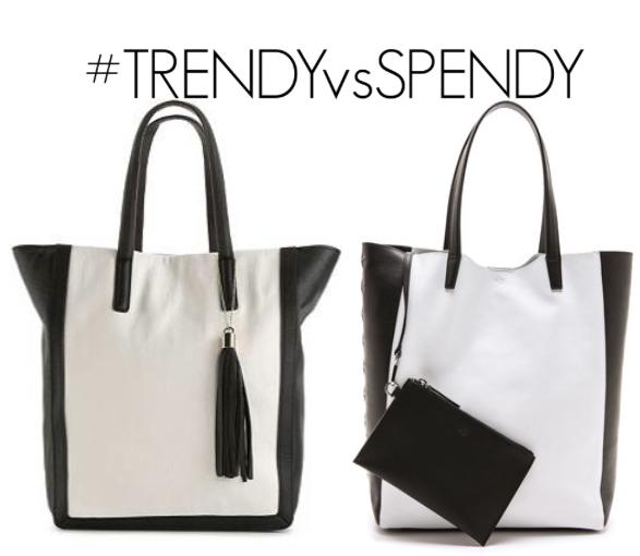 trendy-vs-spendy-black-and-white-bag