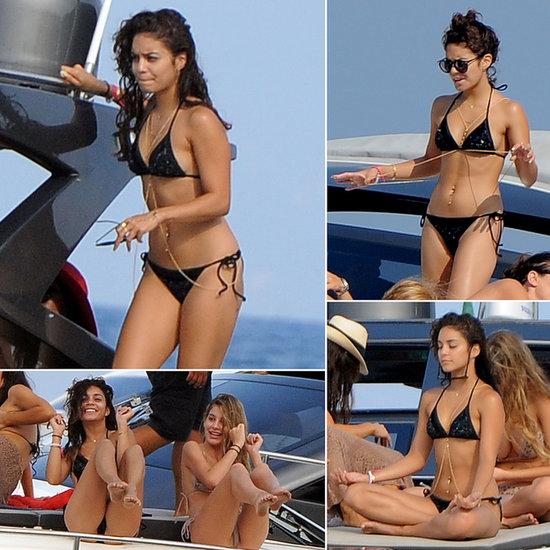Vanessa-Hudgens-Wearing-Bikini-Boat-Italy
