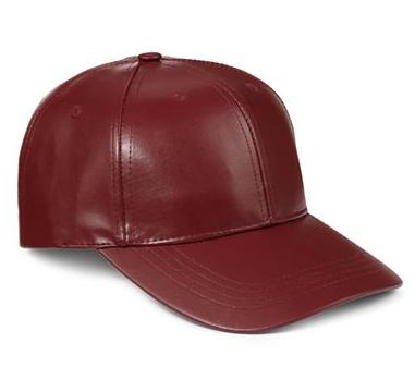 leather baseball hats