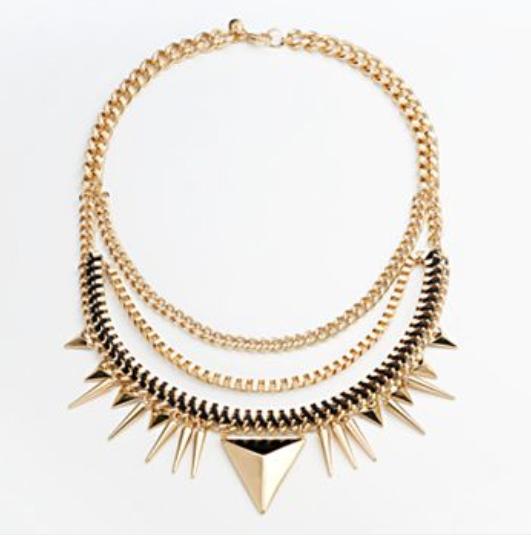 apt 9 spike necklace