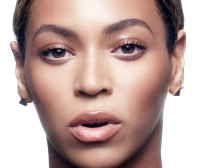 Beyonce-ghost makeup