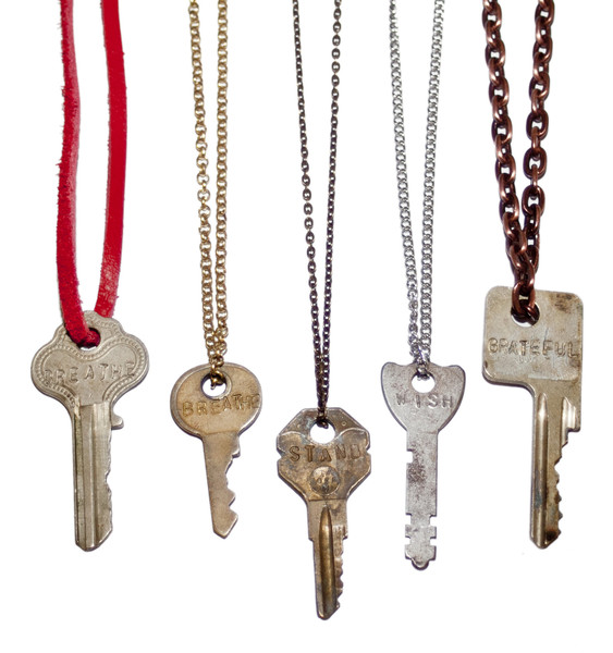 celebrities and the giving keys