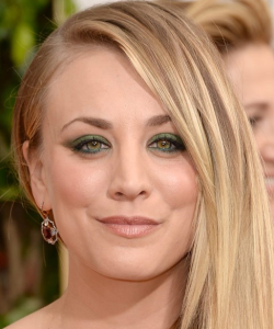 Kelly Cuoco Golden Globes 2014