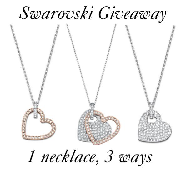 swarovski amorous versatile pendant