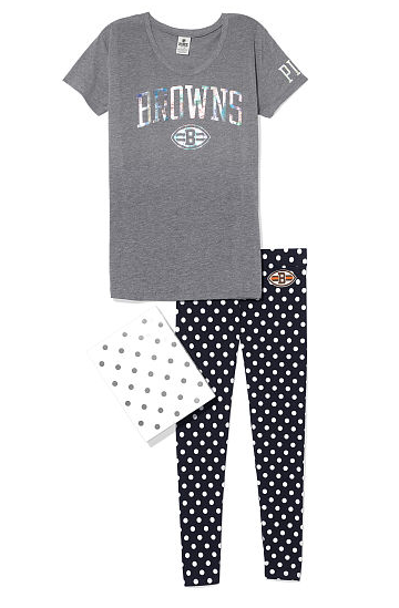 victorias-secret-nfl-leggings-and-tee-shirt