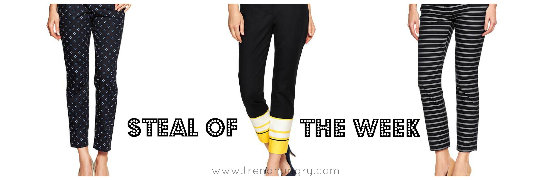 Steal of the week_patterned pants_cropped_gap_spring