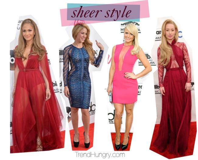 sheer style 2014 billboard music awards