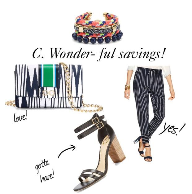 c.wonder sale
