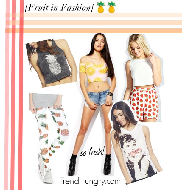 fruit print fashion