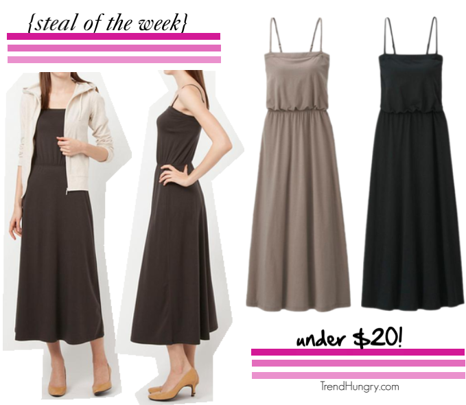 steal of the week-uniqlo convertible dress