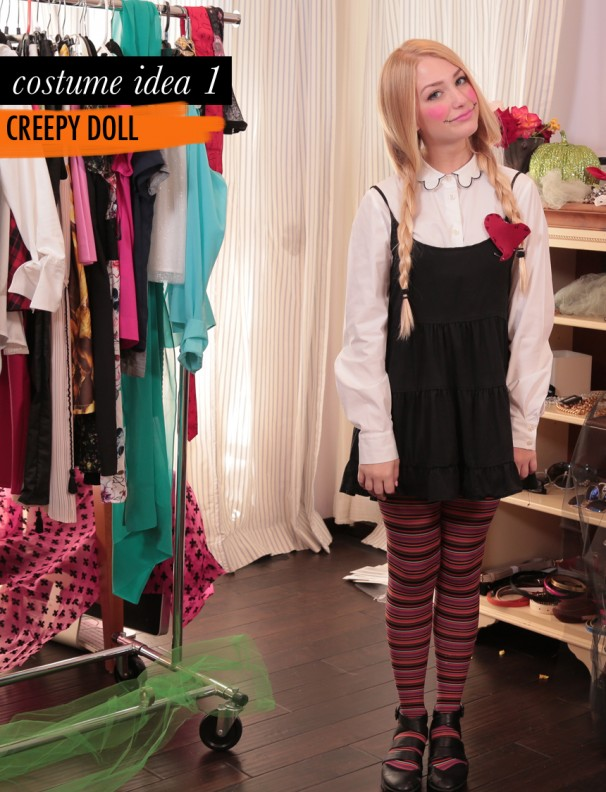 easy-halloween-costume-creepy-doll-diy