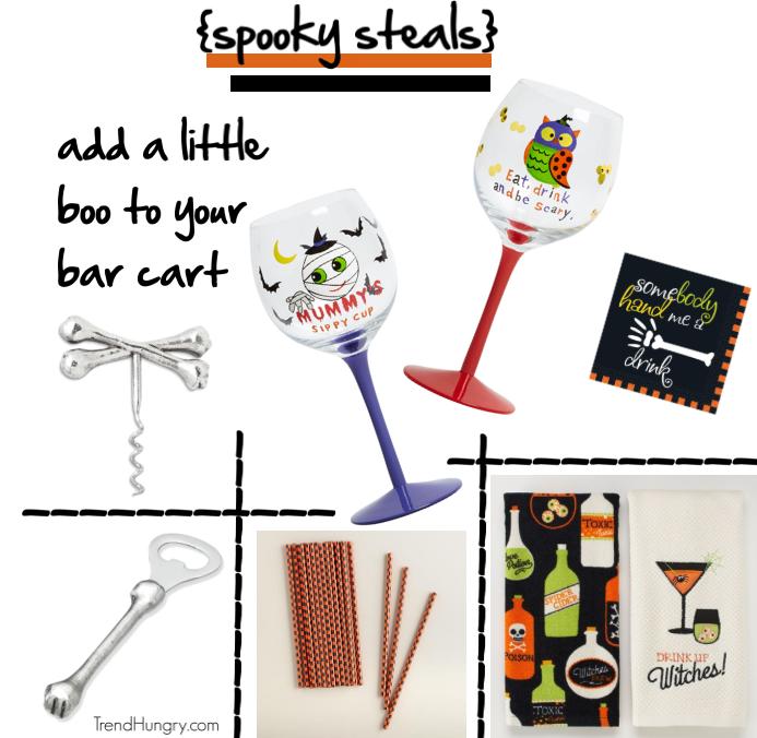 halloween-bar-cart-accessories