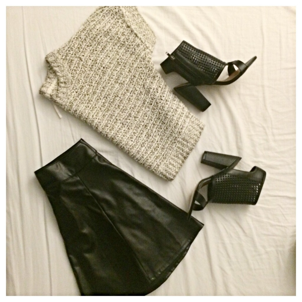 faux-leather-skirt-style