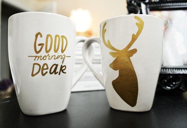 DIY-sharpie-Deer-mug