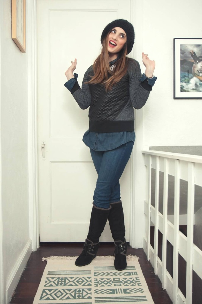 Black and blue fashion 2