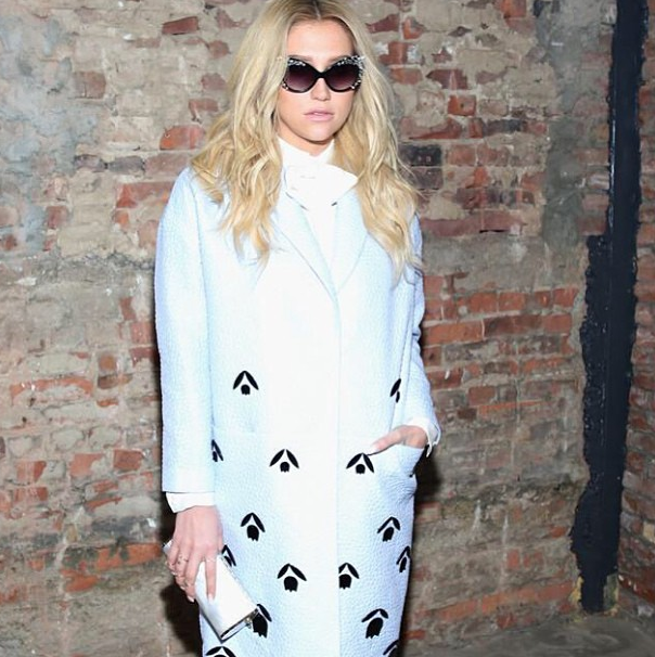 Kesha-NYFW-2015-Instagram