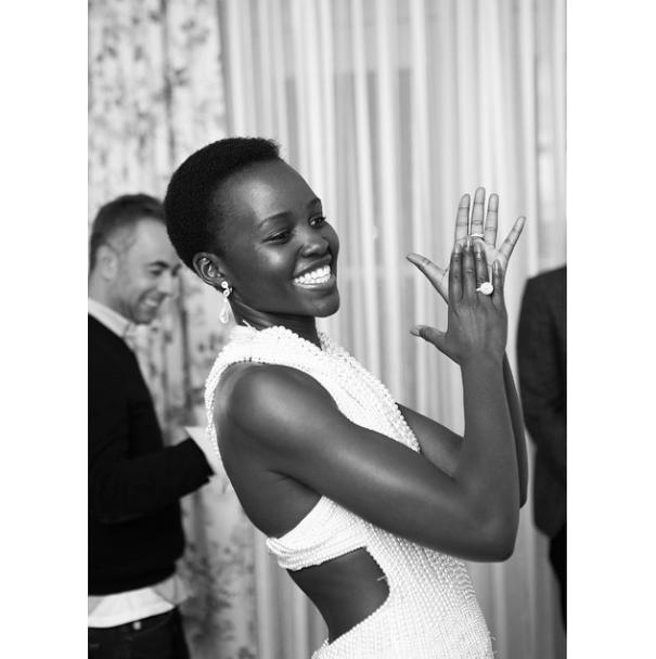 Lupita N'yongo is Calvin Klein 2015 Oscars
