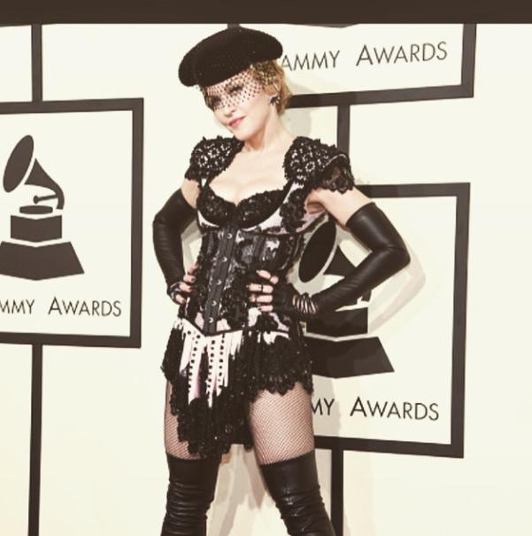 Madonna-Grammy-Style