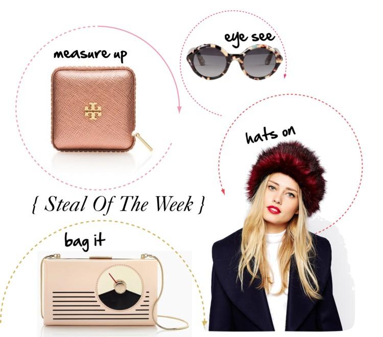 { steal of the week } designer accessories